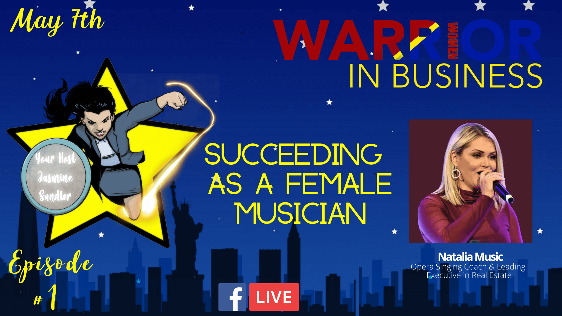 Episode 1 – Succeeding As A Female Musician