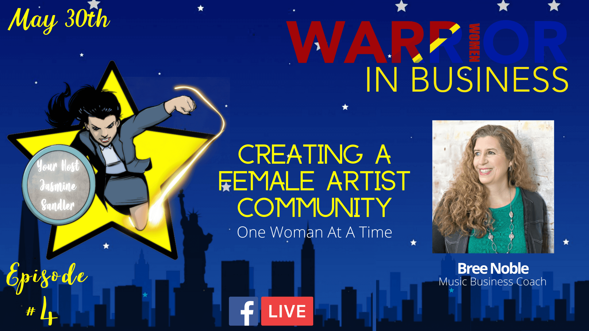 Episode 4 – Creating A Female Artist Community: One Woman At A Time