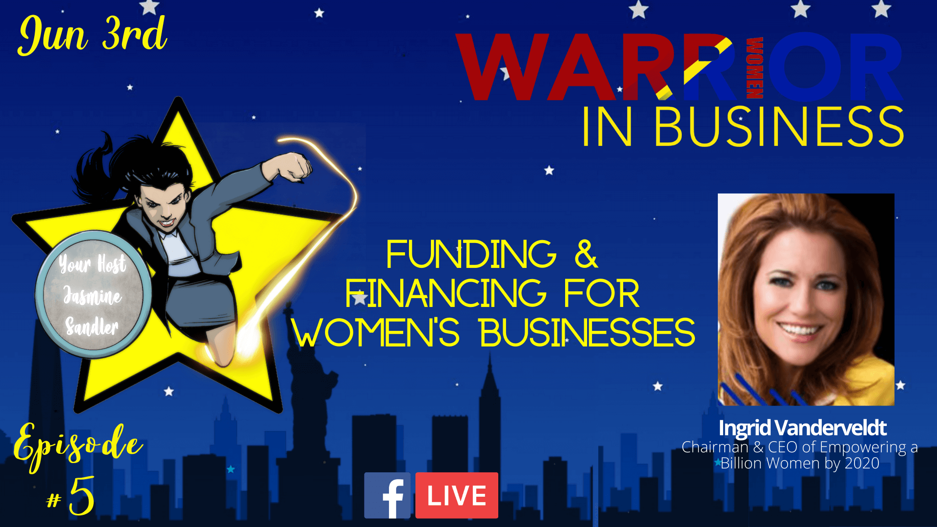 Episode 5 – Funding & Financing for Women's Businesses