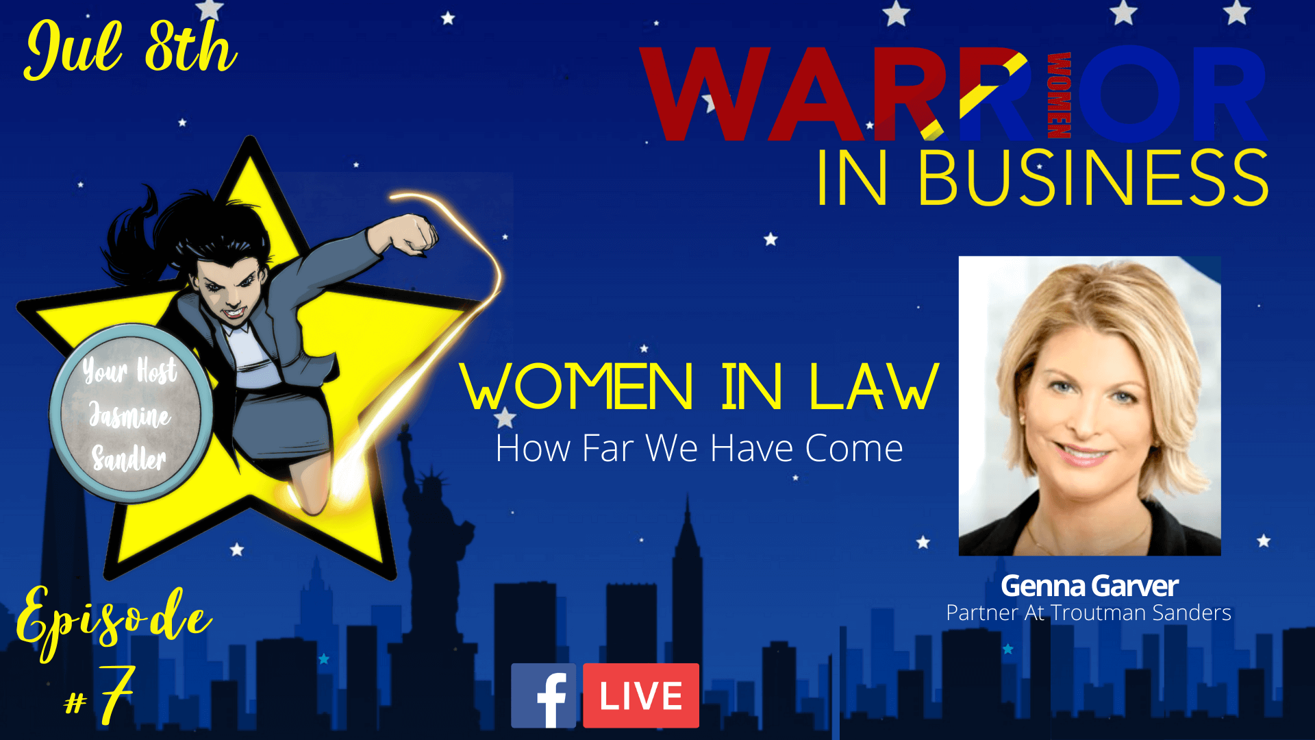 Episode 7 – Women In Law: How Far We Have Come