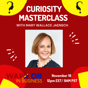 CURIOSITY MASTERCLASS with Mary Wallace Jaensch