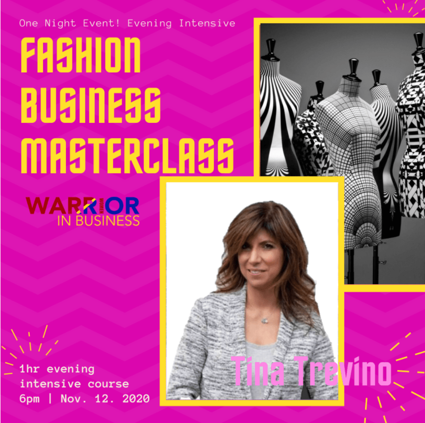 One night intensive course: Fashion Business Masterclass