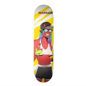 Warrior Extreme – Skater Girl Skateboard