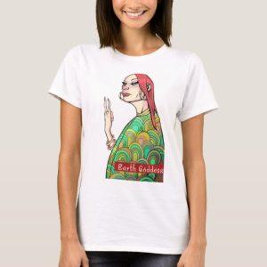 Warrior Women In Business Earth Goddess T-Shirt